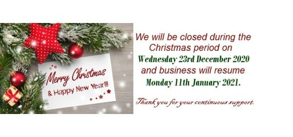 We wish you a glittery, sparkly and joyous Christmas and a very Happy New Year.<br /> <br /> NB: STV is closed from 23rd Dec 2020 to 11th Jan 2021.